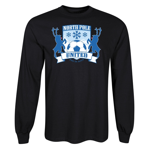 North Pole United Holiday Soccer T-Shirt