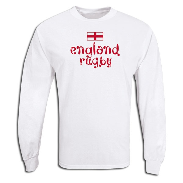 England Country LS Rugby T-Shirt