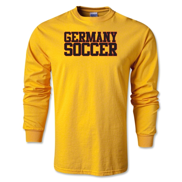 Germany Soccer Supporter LS T-Shirt (Gold)