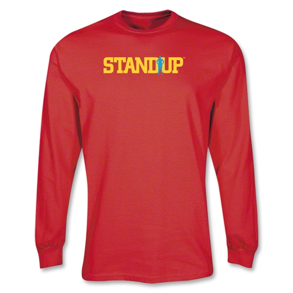 StandUp Long Sleeve Red T-Shirt