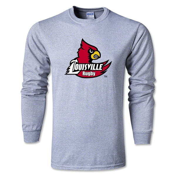 University of Louisville Rugby T-Shirt (Gray)