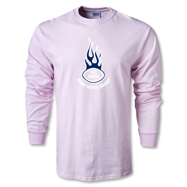 Utah Lions Rugby LS T-Shirt (Pink)