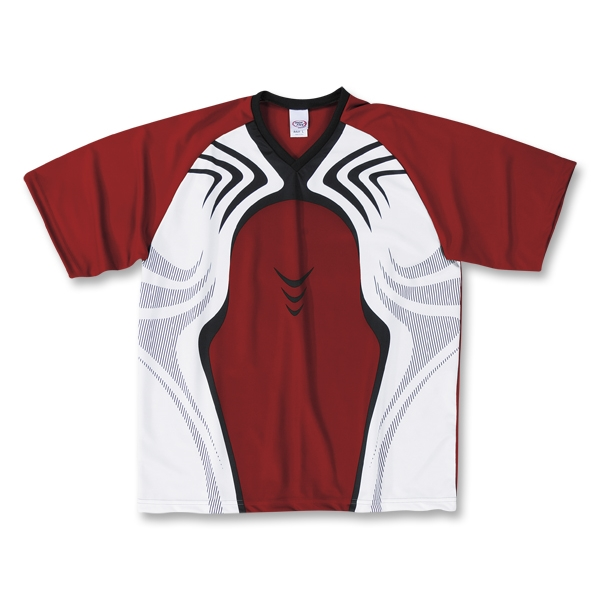 High Five Flash Soccer Jersey (Cardinal)