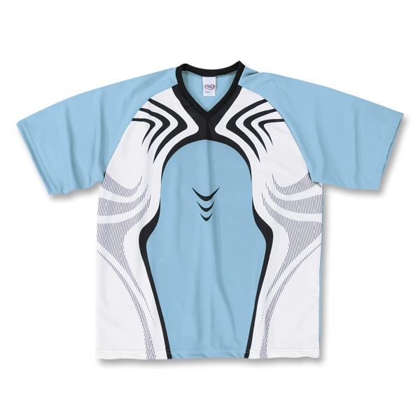 High Five Flash Soccer Jersey (Sky)