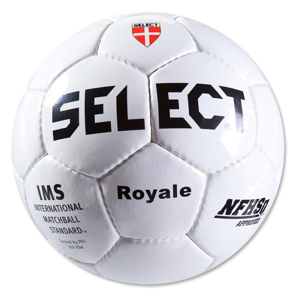 Select Royale Soccer Ball (White)