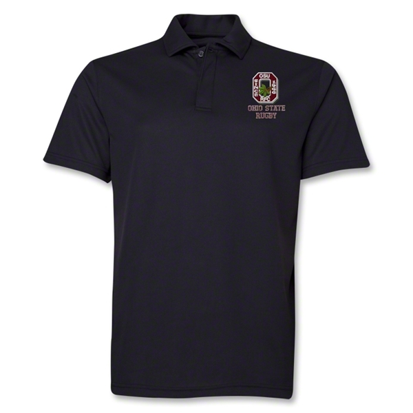 Ohio State Rugby Polo (Black)