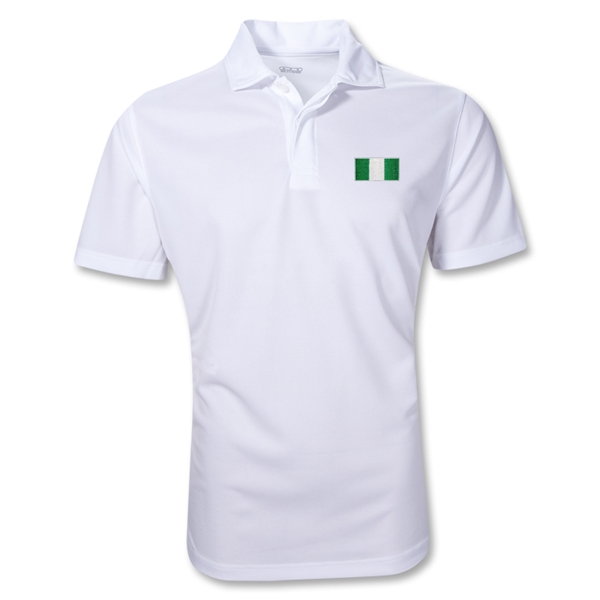 Nigeria Polo Shirt (White)