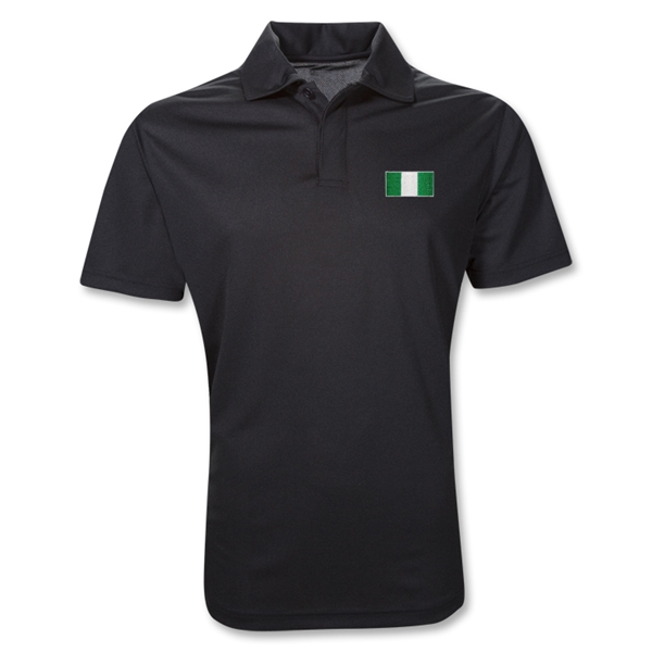 Nigeria Polo Shirt (Black)