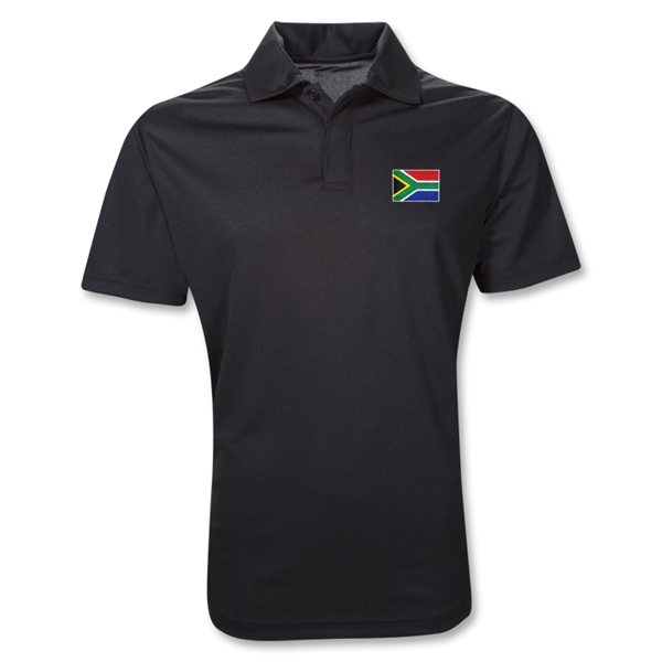 South Africa Polo Shirt (Black)