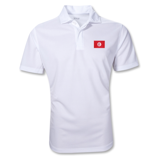 Tunisia Polo Shirt (White)