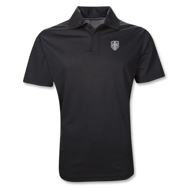StandUp Crest Polo (Black)