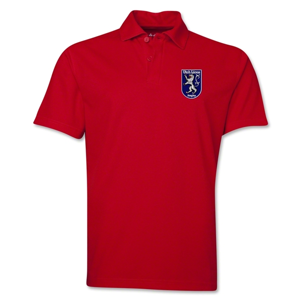 Utah Lions Rugby Polo (Red)