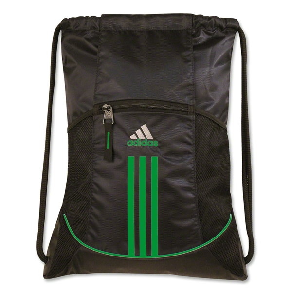 adidas Alliance Sport Sackpack (Blk/Green)