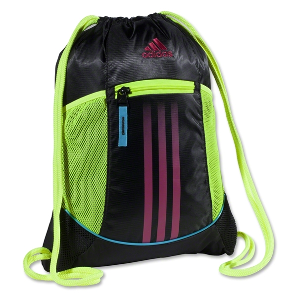 adidas Alliance Sport Sackpack (Blk/Yellow)