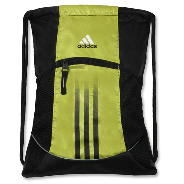 adidas Alliance Sport Sackpack (Lime)