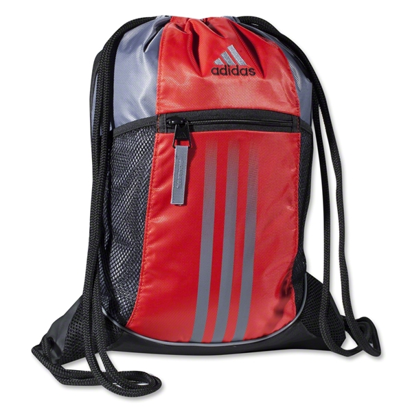 adidas Alliance Sport Sackpack (Red/Silver)