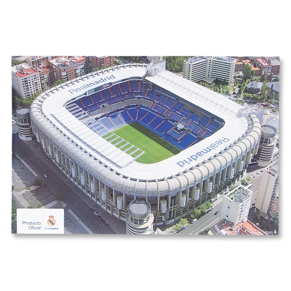 Real Madrid Bernabeu Stadium 2'x3' Poster
