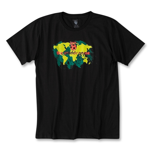 The World's Game Soccer T-Shirt (Black)