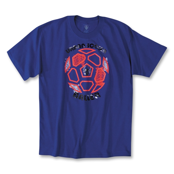 The World's Game Soccer T-Shirt (Royal)