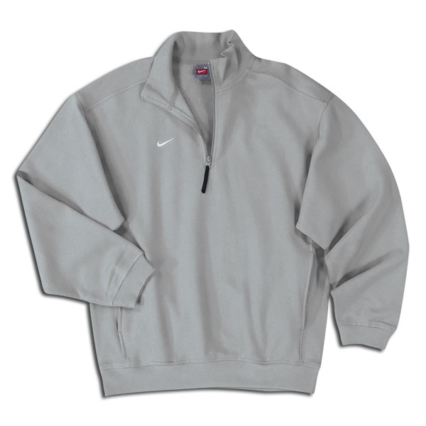 Nike Fleece Half-zip (Gray)
