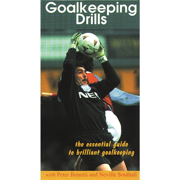 Goalkeeping Drills Soccer DVD