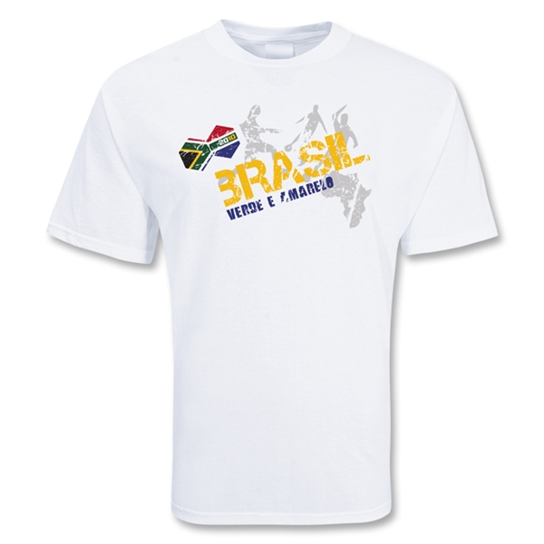 Brazil World Soccer T-Shirt (White)