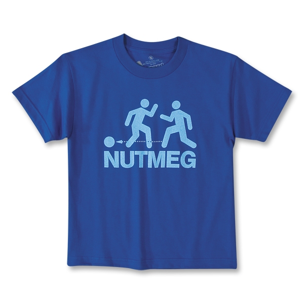 Nutmeg Soccer T-Shirt (Royal)