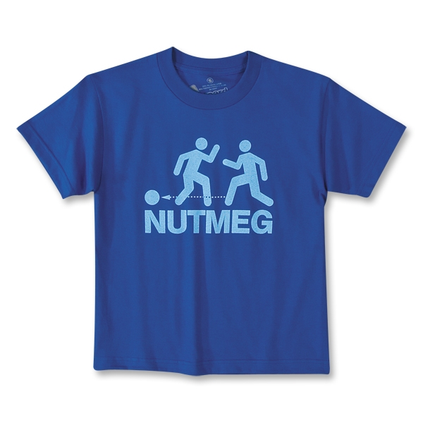 Nutmeg Youth Soccer T-Shirt (Royal)