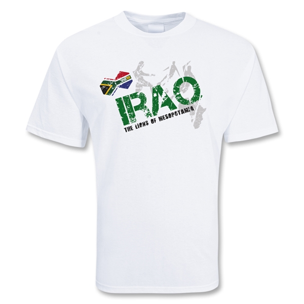 Iraq World Soccer T-Shirt