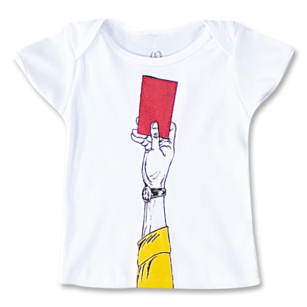 Red Card Infant T-Shirt (White)
