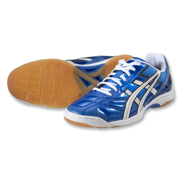 Asics Copero S Indoor Shoes (Electric Blue/White/Black)