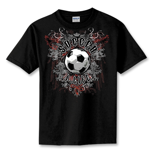 Soccer 4 Life T-Shirt (Black)