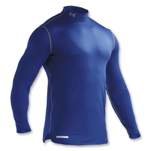 Under Armour ColdGear Fitted Mock (Royal)