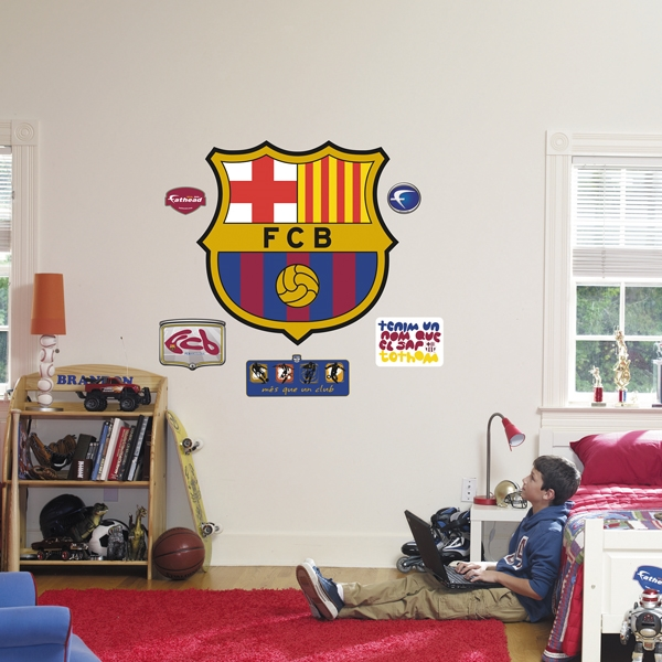 Fathead FC Barcelona Crest Wall Graphic