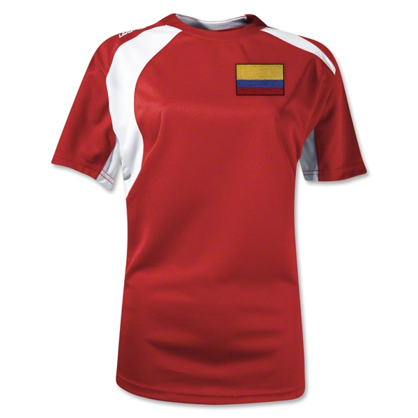 Colombia Gambeta Women's Soccer Jersey (Red)