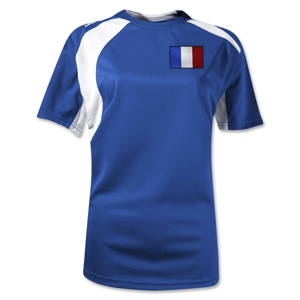 France Gambeta Women's Soccer Jersey (Royal)