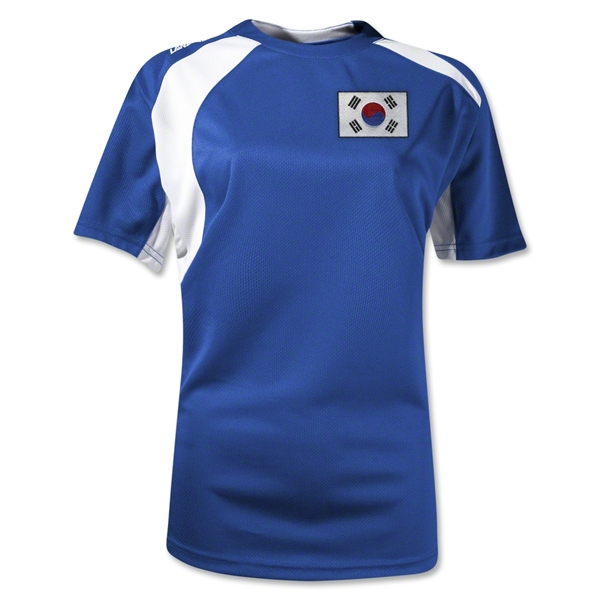 South Korea Gambeta Women's Soccer Jersey (Royal)