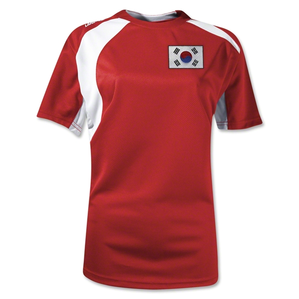 South Korea Gambeta Women's Soccer Jersey (Red)