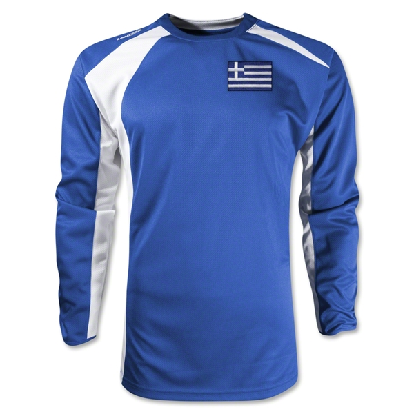 Greece Gambeta LS Soccer Jersey (Royal)