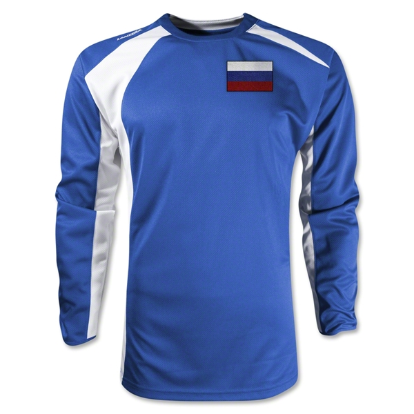 Russia Gambeta LS Soccer Jersey (Royal)