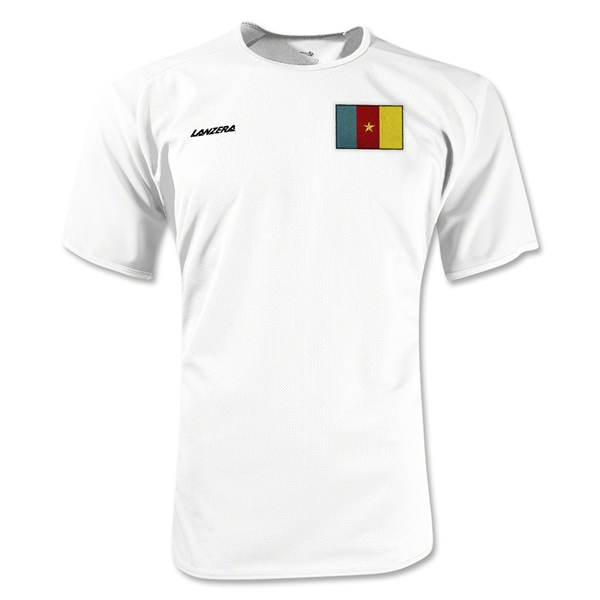Cameroon Torino Soccer Jersey (White)