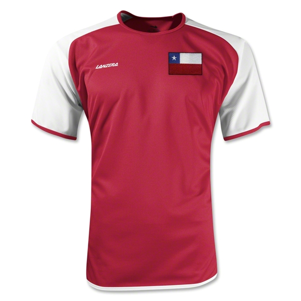 Chile Torino Soccer Jersey (Red)