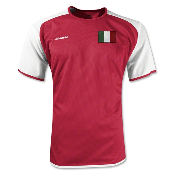 Italy Torino Soccer Jersey (Red)