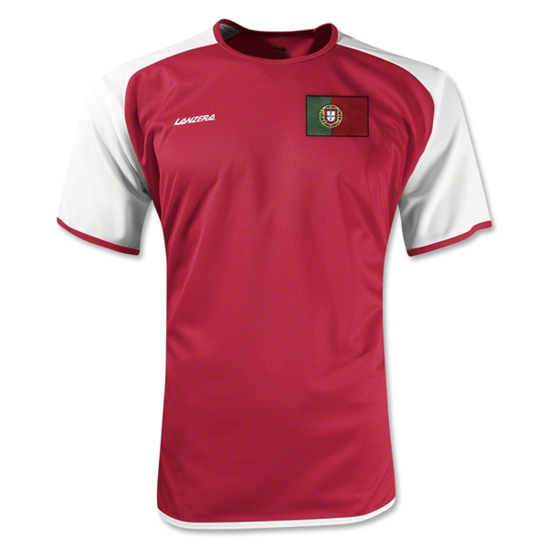 Portugal Torino Soccer Jersey (Red)
