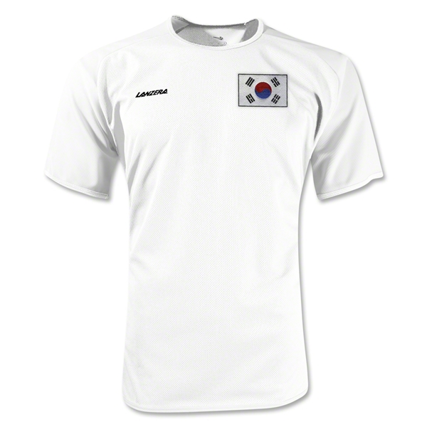 South Korea Torino Soccer Jersey (White)