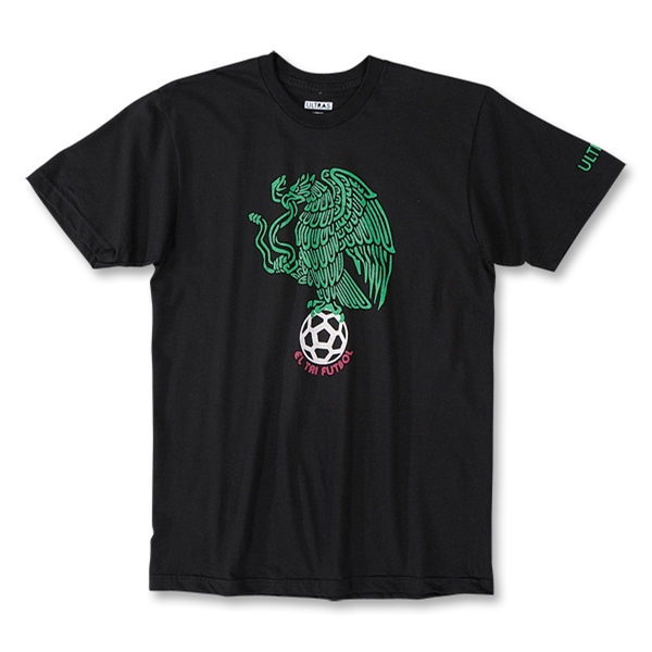 Objectivo Ultras Mexico El Tri Eagle T-Shirt (Black)