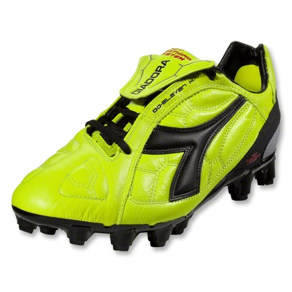 Diadora DD Eleven GX 14 Soccer Shoes (Fluo Yellow/Black)