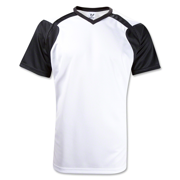 High Five Tempest Soccer Jersey (White/Black)