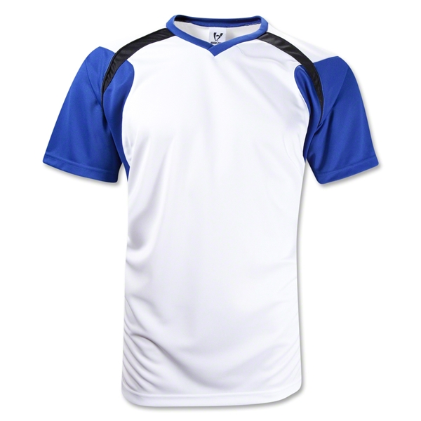 High Five Tempest Soccer Jersey (White/Royal)
