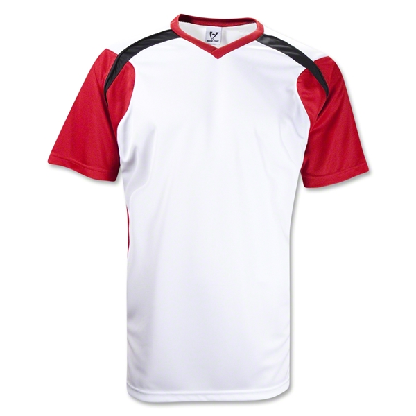 High Five Tempest Soccer Jersey (White/Red)